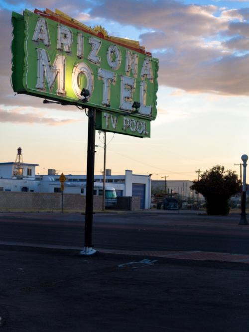 Arizona Motel - spent saints - photographic print